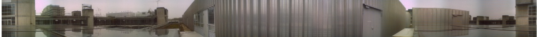 360-Grad-Rundumblick vor dem Clubraum der AKAFUNK