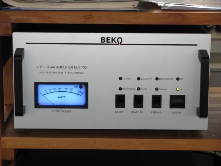 Die 2-Meter-Endstufe BEKO HLV-750
